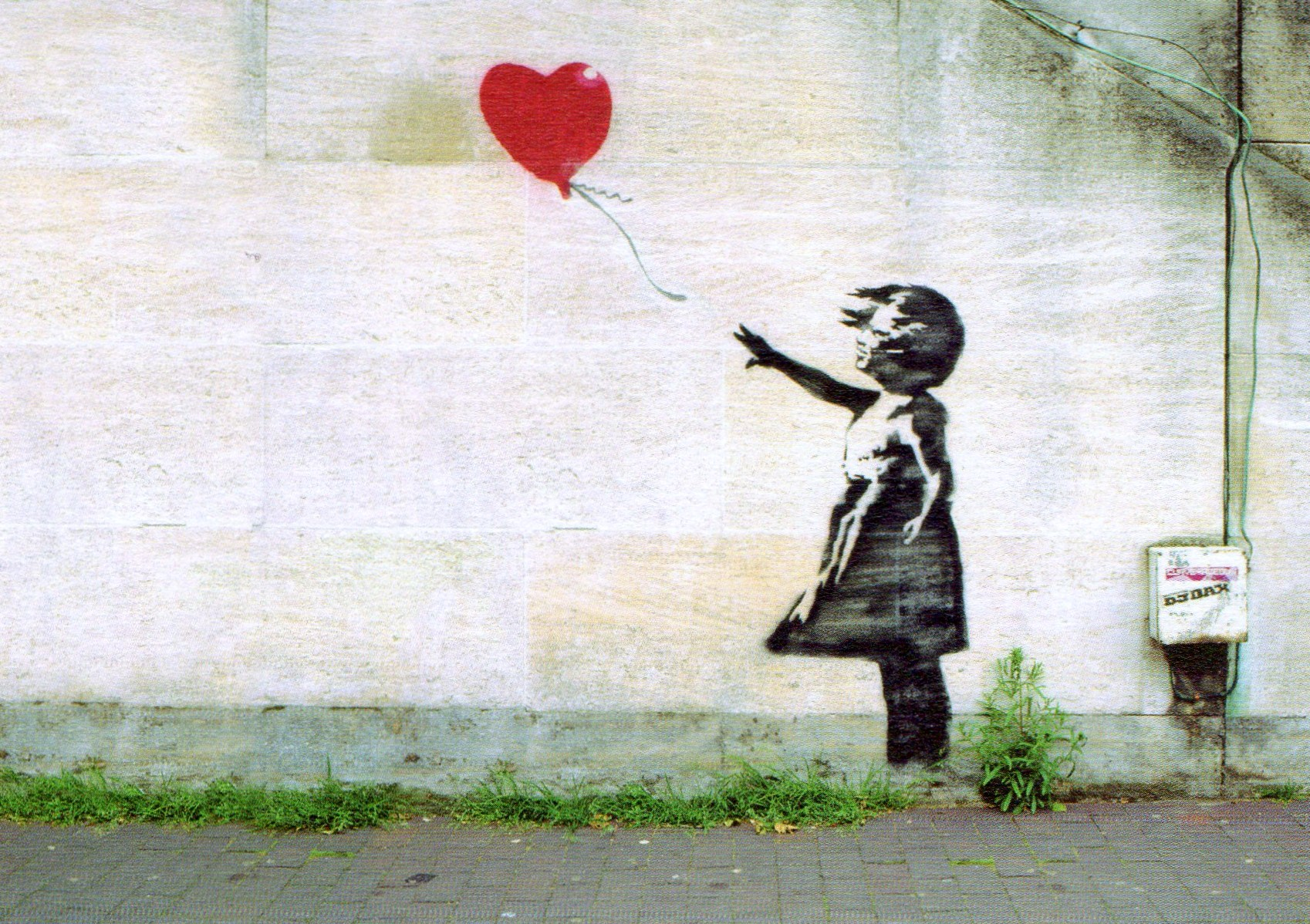 Banksy There Is Always Hope Wallpaper | www.pixshark.com ...